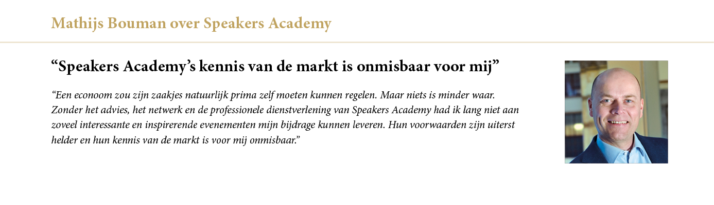 Mathijs Bouman over Speakers Academy