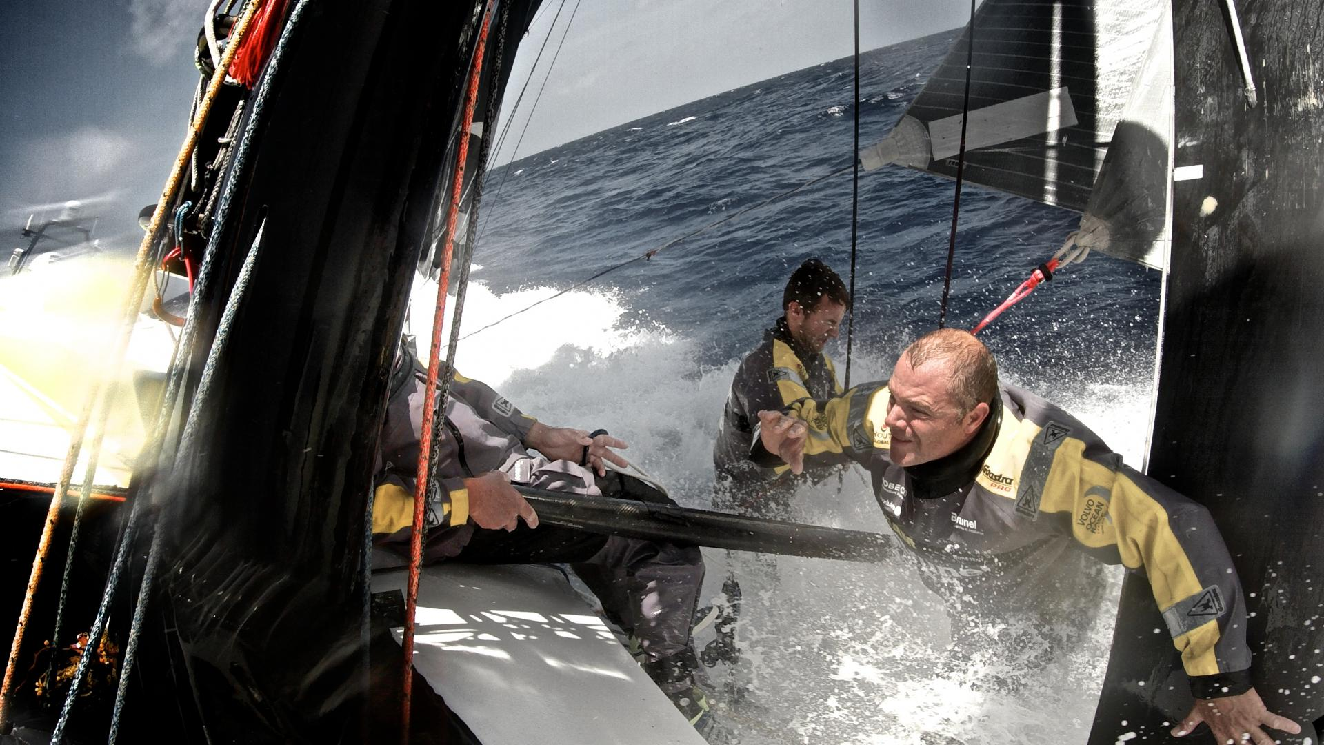 Team Brunel - Volvo Ocean Race ©Stefan Coppers